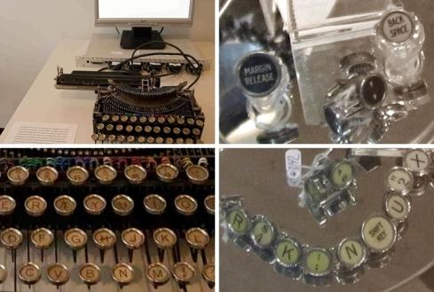 melb typewriter amster-tile